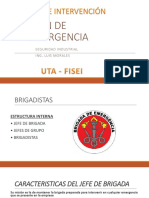Clase 16. Equipos de Intervención Plan de Emergencia