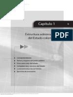 Estructura Administrtiva Del Estado.