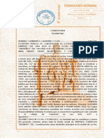 2-Hojas Notariales de Escritura de Sociedad