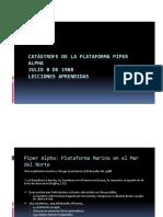 Catastrofe de La Plataforma Piper Alpha
