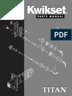 Kwikset Parts Manual