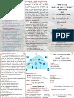 Cloud Computing June 12-17 2017
