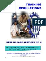 TR- Health Care Services NC II