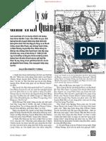 Về Vị Trí Ly Sở Dinh Trấn Quảng Nam - Nguyễn Phước Tương
