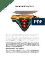 Atomo Artificial de Grafeno