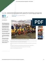 CCSC Launches Grassroots Sports Training Program _ Cebu Daily News