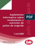 Cobb500 Bpn Supp Spanish