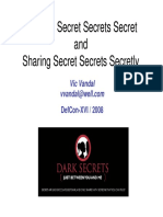 Vic Vandal - Keeping Secrets Secret