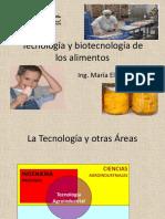 Clase 1 - Tecnologia y Biotecnologia de Los Alimentos