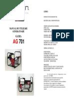 Manual Generator Cu Sudura