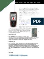 GPS Garmin 62s