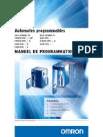 CJ1 Manuel de Programmation