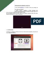Instalacion de Ubuntu 14