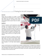 Nondestructive Bond Testing for Aircraft Composites-Olympus