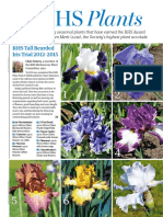 RHS Plants RHS Tall Bearded Iris Trial