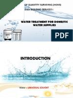 BS Water Treatment Presentation 1 1 Finals