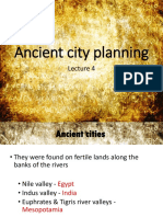 Lecture 4 Ancient Cities
