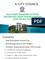 Activities Implemented Under TSCP Project_Presentation to Dainida 01 July 2016