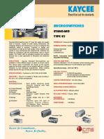 k1 Micro Switch