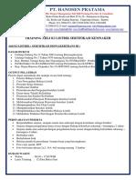 pusatpelatihank3.com - Silabus Ahli K3 Listrik Sertifikasi Kemnaker