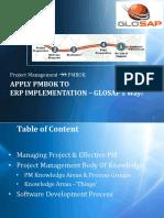 Glosap's Pmbok - Pmp Way of Pm