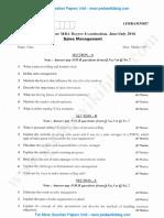 Sales Management July 2016 (2014 Scheme)