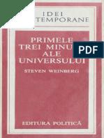 Steven Weinberg - Primele Trei Minute Ale Universului