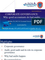 Accounting-Good Accountant, Bad Audit by Babajide Ibironke
