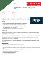Fusion Applications Accounting Hub Fundamentals