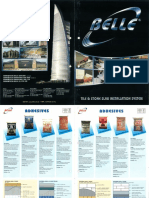 Brochure - Belle Tile and Stone Slab Installation System