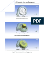 CFD Analysis of a Centrifugal Pump