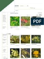 Plantes Pour Composer Un Jardin Jaune Hortimarine - Hortimarine