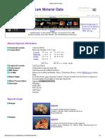 Gypsum Mineral Data