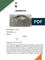 Informe Del Cemento