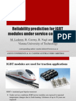 EM 02 Lederer TU Wien Reliability Prediction for IGBT Modules Under Service Conditions