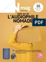 ON mag - Guide de l'audiophile nomade 2017
