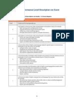 wida access proficiency level domain descriptors examples