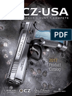 CZ USA 2017 Product Catalog