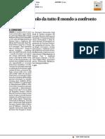 Esperti di calcolo da tutto il mondo a confronto - Il Corriere Adriatico del 6 luglio 2017