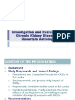 Investigation & Evaluation of CKDU-Final Report