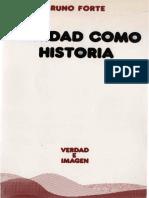 Forte Bruno - Trinidad Como Historia (Cf. La Iglesia, Icono de La Trindad)