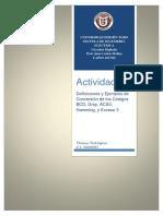 Ensayo sobre los Códigos  BCD, Gray, ACSII, Hamming, y Exceso 3