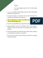 Base de Cálculo Para El Pago ISLR