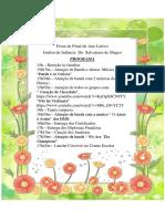 Programa Festa Final 2017