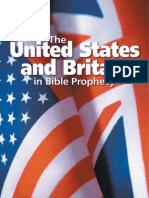 The United States and Britain in Bible Prophecy