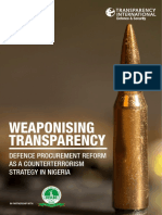 Weaponising Transparency