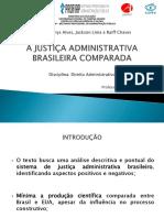 A Justiça Administrativa Brasileira Comparada - Versão Final