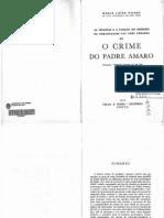 As técnicas e as funções do desenho de personagem nas três versões de O Crime do Padre Amaro por Maria Luísa Nunes