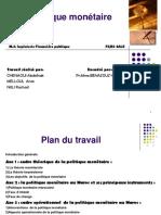 La Politique Monétaire(Communication Financière)