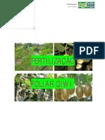 Fertilização do KIWI